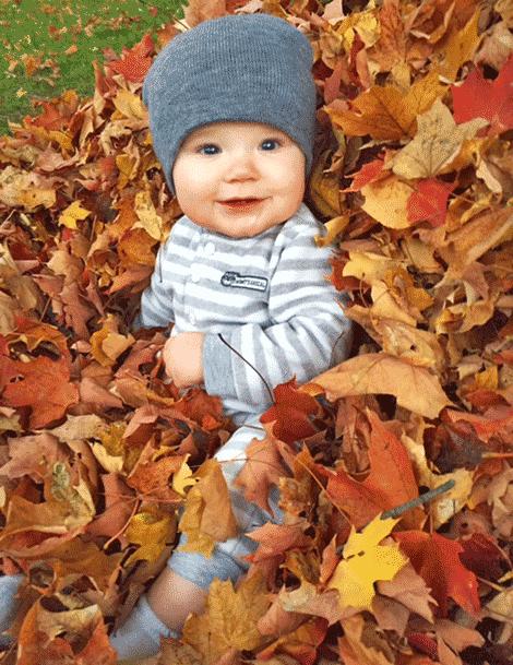 Hayden Ames, 8 months old