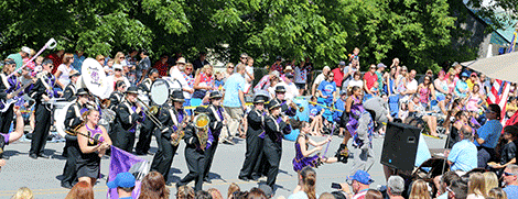 Heuvelton Bulldogs marching band