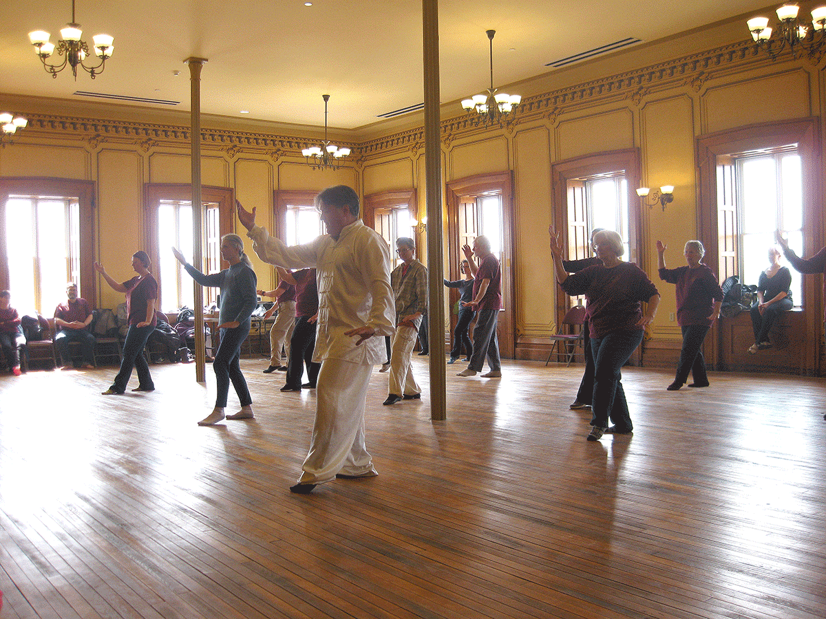Free World Tai Chi Day class and demonstration planned Saturday in