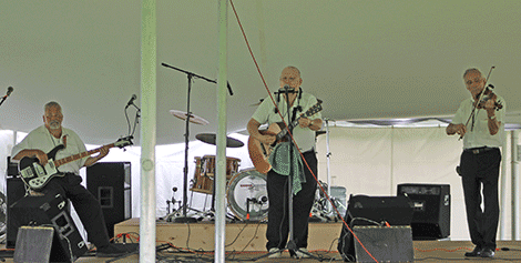 The Lime Hollow Boys perform a classic Hank Williams tune on Thursday.