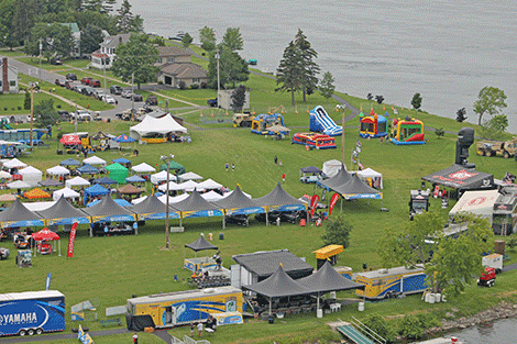 Another view of the park from the Adirondack Helicopter Tours chopper.