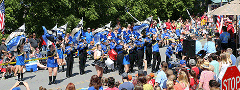 Lisbon Central marching band
