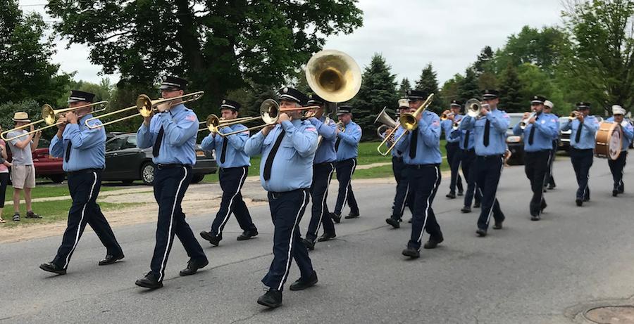 Norwood Brass Firemen band