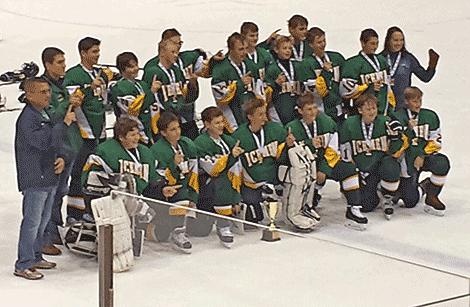 Norwood Norfolk Bantam Skaters Win Che Hockey Tournament In Lake