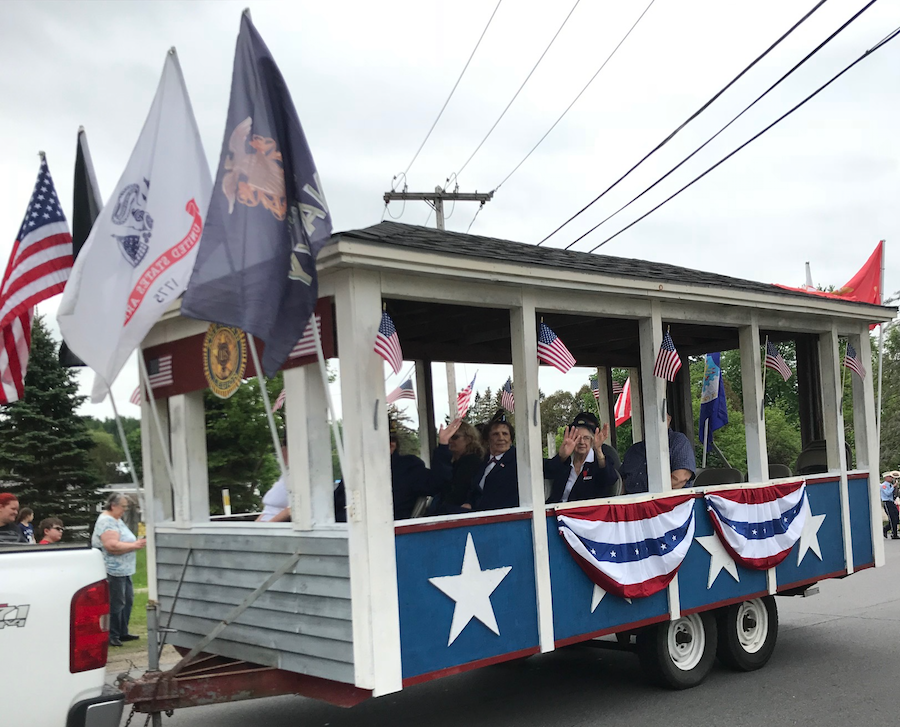 Norwood American Legion float