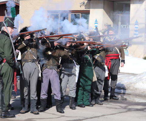 Ogdensburg-battle-green-rifles.png