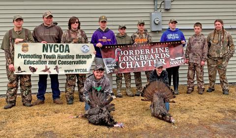 Massena youth in turkey hunt